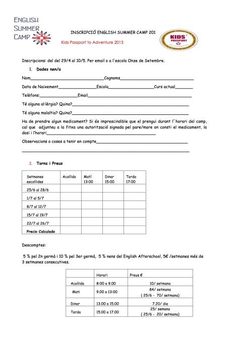 Inscripcion Casal Angles 2013 PDF