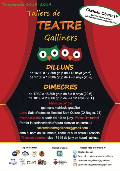 Tallers de teatre Galliners 2013-2014boo
