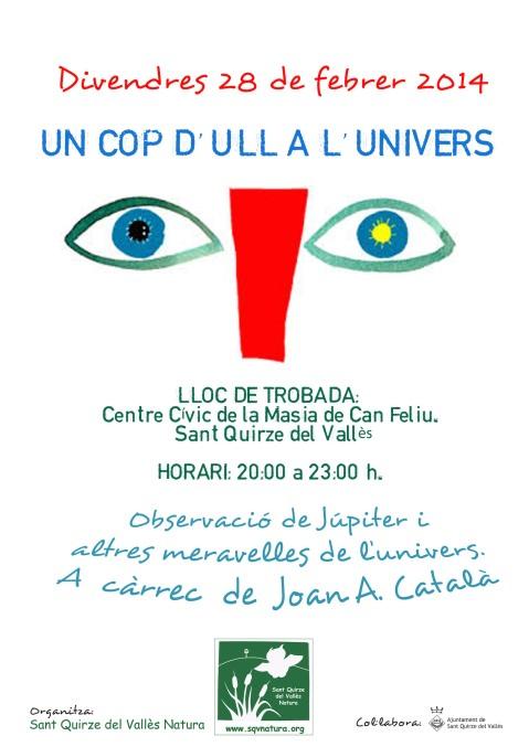 2014 CARTELL_ UN COP D'ULL A L'UNIVERS-1