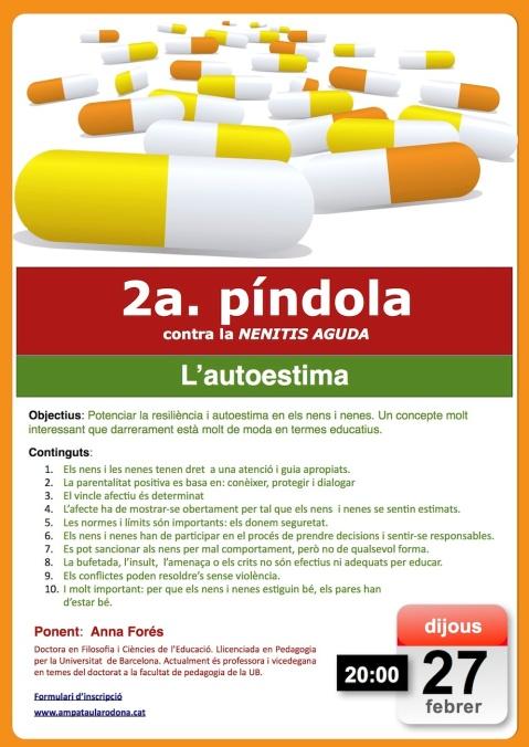2a píndola autoestima