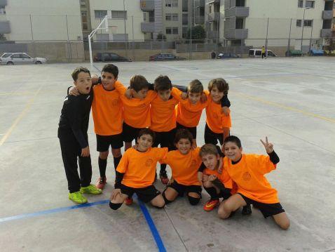 L'equip dels petits
