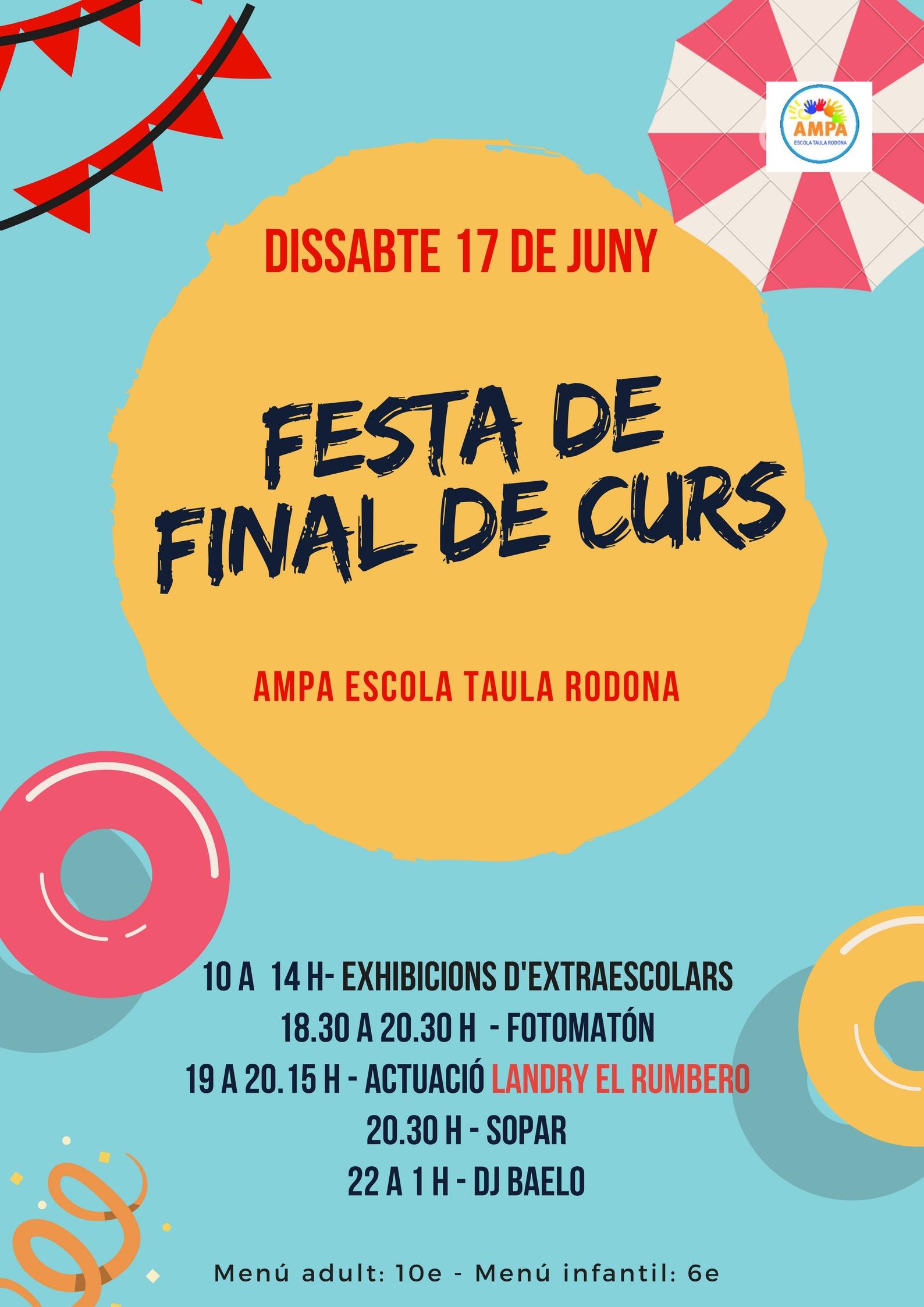 FESTA DE FINAL DE CURS
