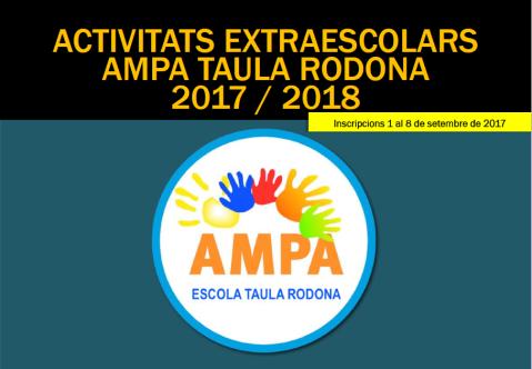 extraescolars 2017-18 taula rodona