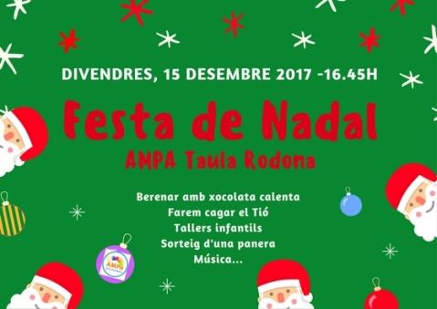 Festa de Nadal AMPA 2017