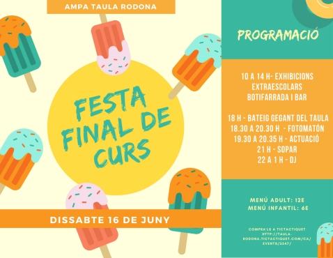 FESTA fINAL DE CURS 2018