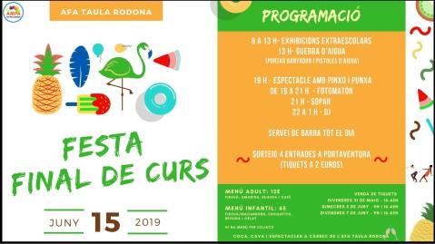 FESTA FINAL DE CURS AFA